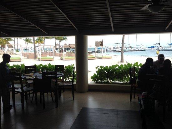 Ocean Spa Hotel: Varanda Restaurante Buffet