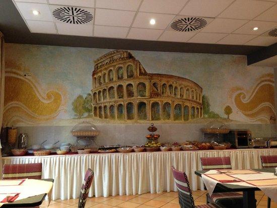 Hotel Roma Prague: Breakfast area!