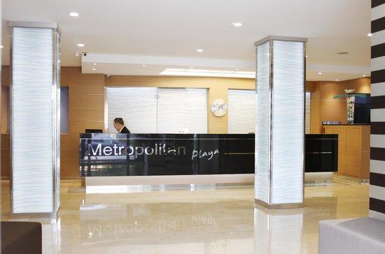 Hotel Metropolitan Playa : Rezeption