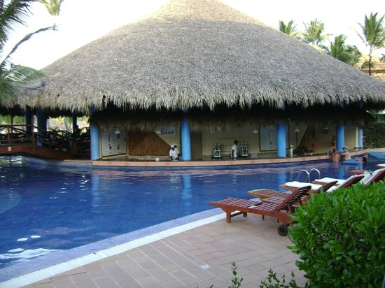Excellence Punta Cana: The swim up Bar, right outside our room