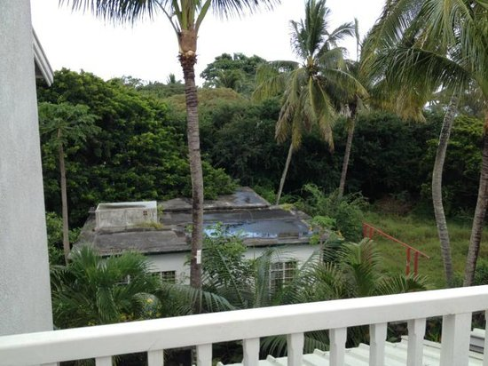 Mon Choisy Beach Resort: From Balcony