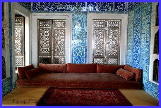 Daily Istanbul Tours: inside summer house, Topkapi Palace