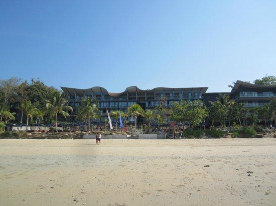 Beyond Resort Krabi: view from beach