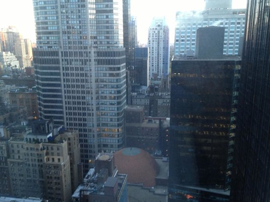 New York Hilton Midtown: View from room