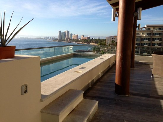 Secrets Vallarta Bay Puerto Vallarta: Patio and pool on Presidential Suite