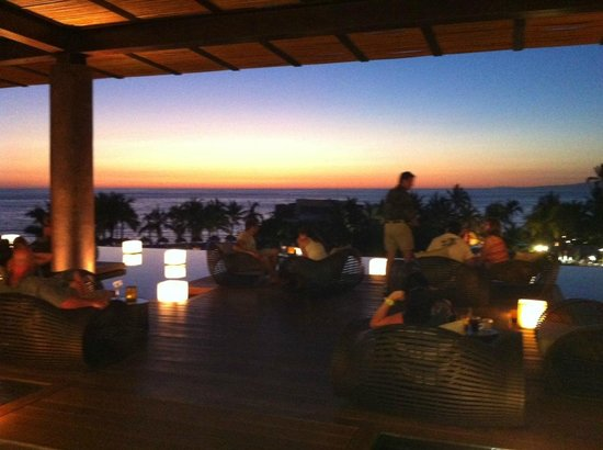 Secrets Vallarta Bay Puerto Vallarta: Secrets Lobby overlooking grounds, beach, sunset