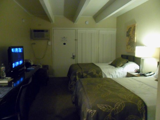 Best Western Plus Island Palms Hotel & Marina : Two double beds room