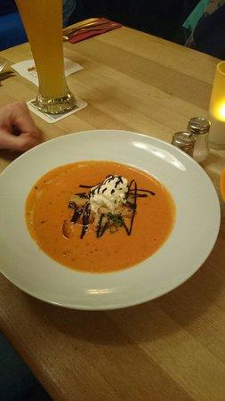 Salino: Tomato soup