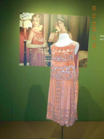 Winterthur Museum, Garden & Library: Rose's Nightclub Dress