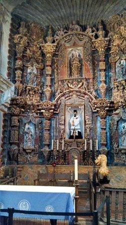 Mission San Xavier del Bac : main alter artwork