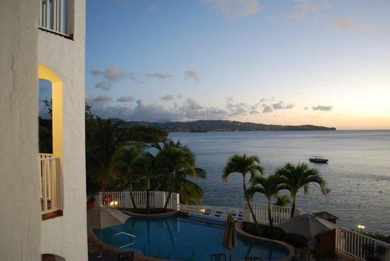 Windjammer Landing Villa Beach Resort: View from our villa