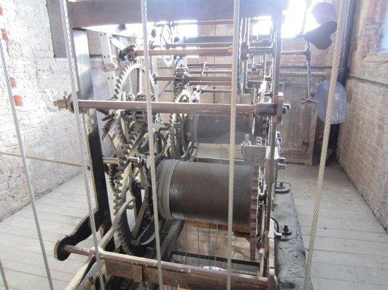 Torre delle Ore : The clockwork or bells mechanism