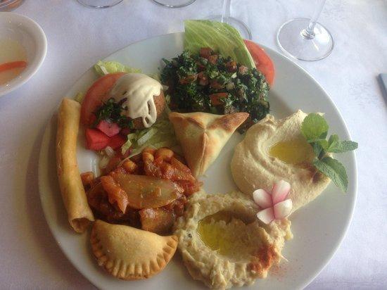 "AL KARMA ""La vigne"" : Mezzés végétariens"