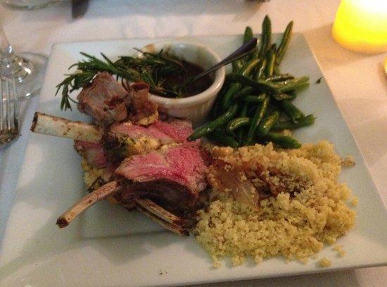 French Corner Bistro & Rotiserie: Lamb Rack