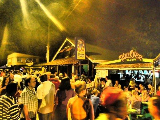 Gros Islet Street Party: Street party fun!