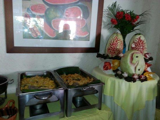 Hotel Villablanca Huatulco : Desayuno