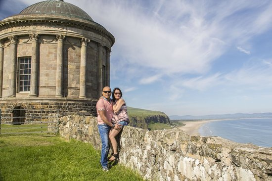 Side of Mussenden Temple