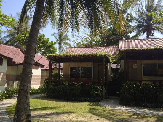 Palita Lodge: bungalow (nearest beach)