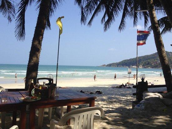 Palita Lodge: beach