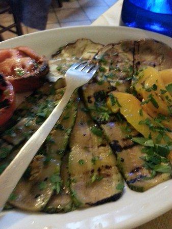La Taverna di Plauto: verdure grigliate