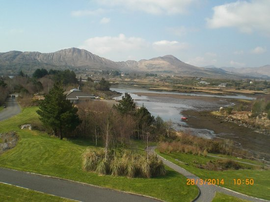 "Sneem Hotel: View from my ""seaview"" room"