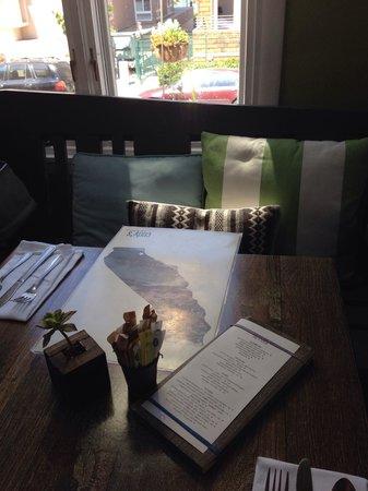 Cody's : Indoor table.