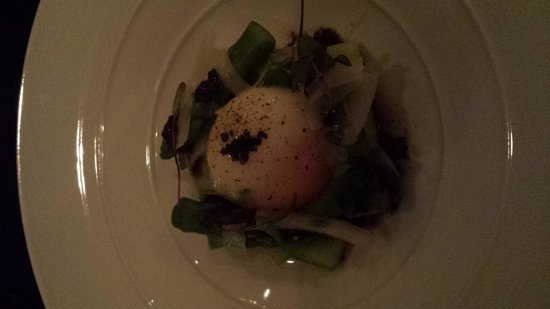 Reserve Restaurant Milton: 63°egg a must to try.