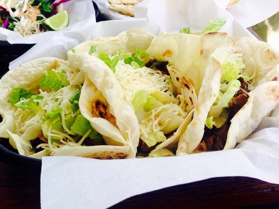 Tacos Your Way with carnitas & carne asada