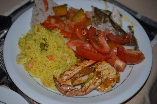 Dickwella Resort & Spa: one of my dinner
