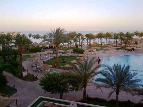 Continental Hotel Hurghada : Sunset View
