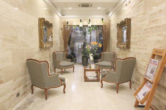 Sala de leitura do Hotel Panamericano - Santiago do Chile