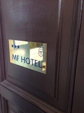 MF Hotel : Entrata