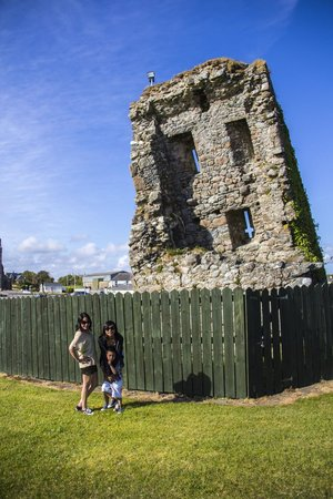 Our Ladys Island Lake : The Tower Ruins