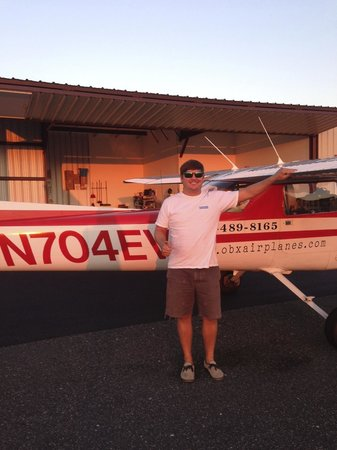 OBX Airplanes: Me with the Cessna 150