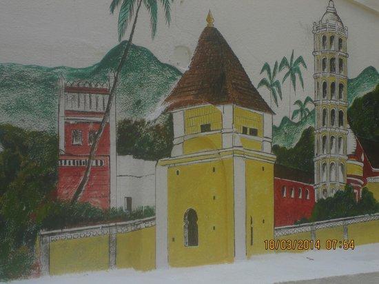 Santana Beach Resort : Art work