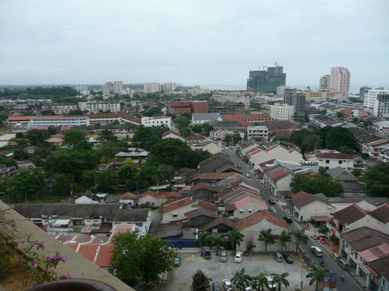 Hotel Equatorial Melaka: View from the bacony of our room