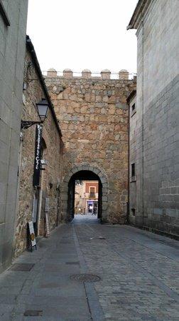 Las Murallas de Ávila: calles de Avila