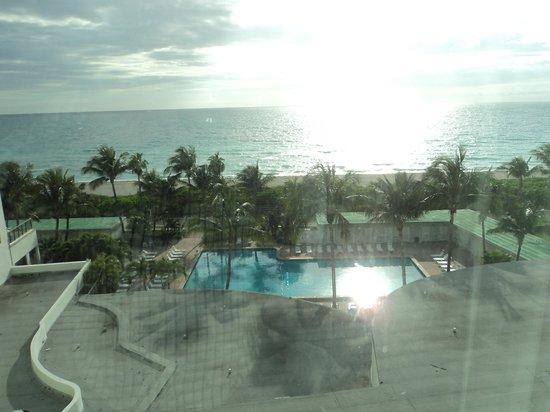 The New Casablanca on the Ocean Hotel : vista do quarto