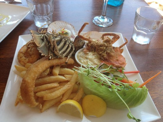The Flying Fish Cafe: Seafood tasting plate for one