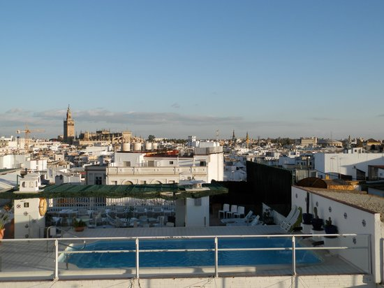Hotel Becquer: vista dal tetto
