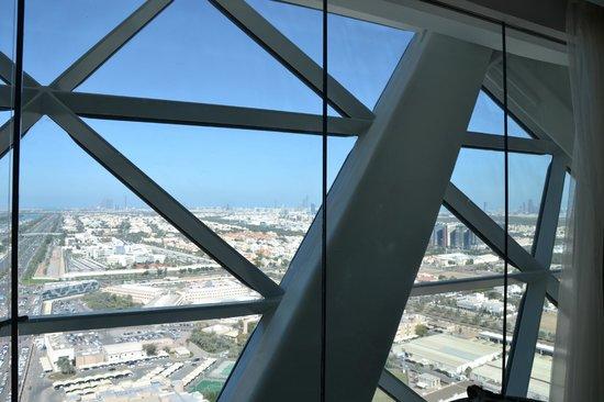 Hyatt Capital Gate: view from room. 22 floor
