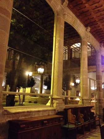 Parador de Plasencia: View from the bar terrace