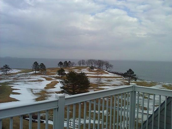 Samoset Resort On The Ocean: The view from our room! Even in March, it's beautiful!