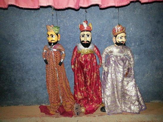 Vijayshree Resort & Heritage Village : Puppet show