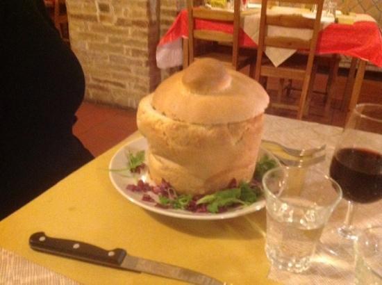 Le Clarisse: La zuppa.....alll'inizio.....
