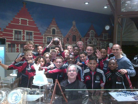 Chocolaterie Belge Artisanale de Jaeger: we even get important teams for a visit