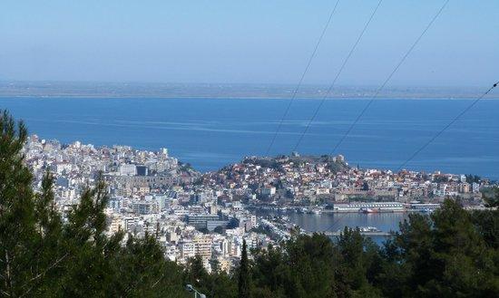 Philoxenia: Панорама на город, море и остров