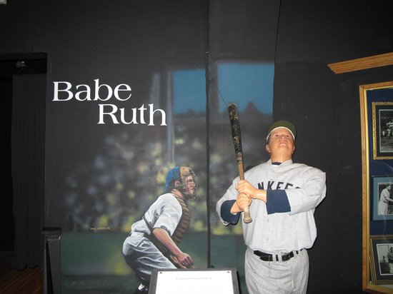 American Baseball Experience/ Heroes of Baseball Wax Museum: Babe Ruth