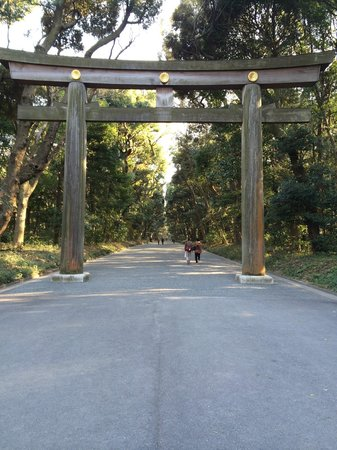 Meijijingu Gaien: Entrance