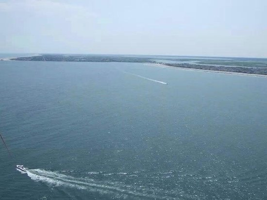 Sea Isle Parasail: Beautiful view of Townsends Inlet